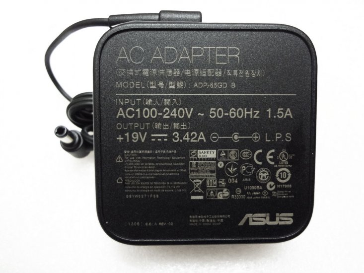 65W AC Adapter Charger Cord For Asus VivoBook S551LB S551LN