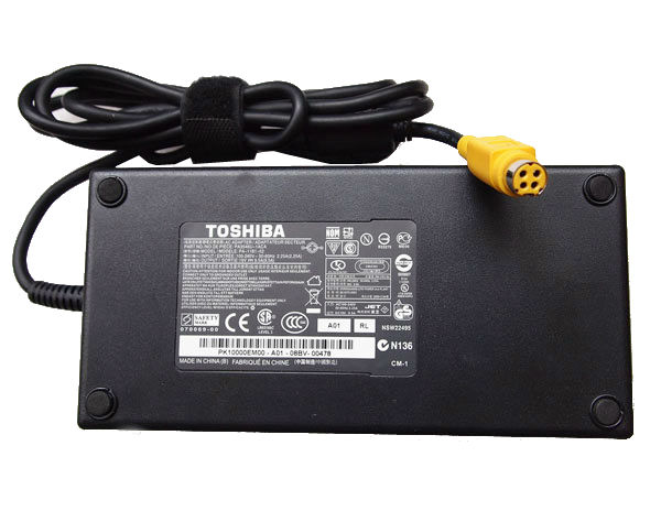 180W Toshiba Qosmio X505-Q885 AC Power Adapter Charger