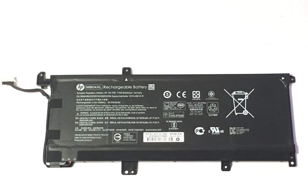 15.4V 55.67Wh HP ENVY x360 m6-ar004dx Battery