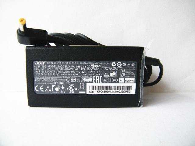 65W Acer TravelMate 613 AC Power Adapter Charger Cord
