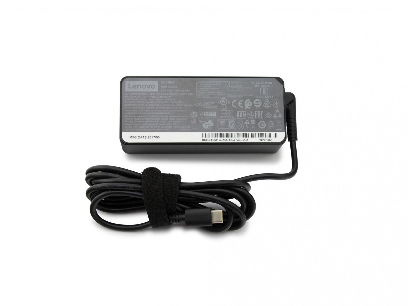 65W Lenovo ThinkPad X1 Yoga 20JD 20JE 20JF 20JG AC Adapter Charger